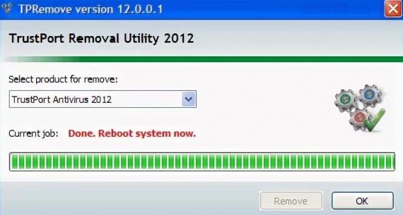 TrustPort Removal
