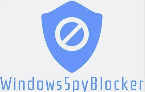 утилита Windows Spy Blocker
